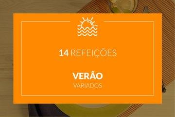 Verão - 14 refeições