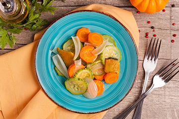 Mix de legumes assados