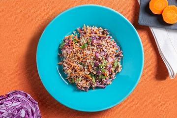 Mix de quinoa com vegetais